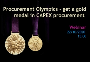 Procurement Olympics - get a gold medal in CAPEX procurement